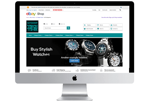 ebay store designing services
